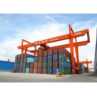 Buy Rail Mounted Container Gantry Crane , Dockside Gantry Crane Auto Tracking at wholesale prices