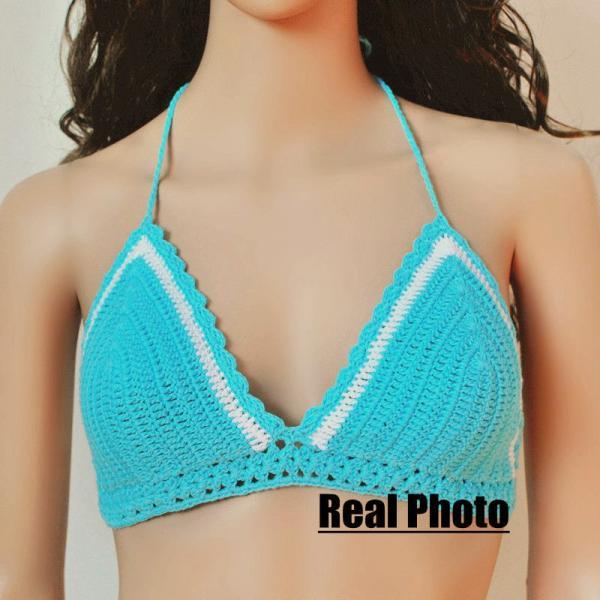 Suerhuai Knitting Underwear Co Ltd : New summer style hand knitted women swimsuit fashion
