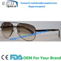 China 2014 hottest new fashion men sunglasses metal models wholesale polarized sunglasses acetate with spring temple on sale