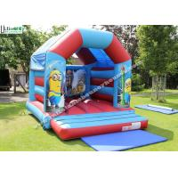 Quality Commercial Children Inflatable Jumping Castles With Despicable Me Theme for sale