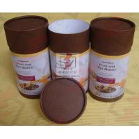 Quality Coated Paper Food Packaging Tubes Containers Cardboard Roll Packaging for sale