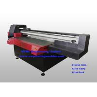 Digital Uv Flatbed Printing Machine , Wide Format Flatbed Printer High Speed