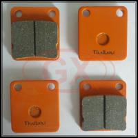 China Motorcycle Best Quality Brake Pads CG125 in orange color on sale