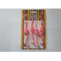 Quality Fancy Pink Art Craft Wedding Ceremony Candles Spring Shaped With Holders for sale
