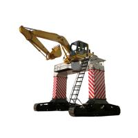 Quality Coal Unloading Material Handling Machine Gate Type 9.6r / Min Swing Speed for sale
