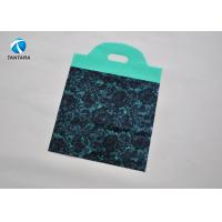 Waterproof Handle Polythene Clothes Bags for shopping , leisure , travel