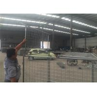 Quality Temporary Hot Dipped Galvanised Weld Wire Mesh Storage Cages With 4 Panels for sale