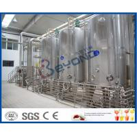 China CE Aseptic Pouch long shelf life Milk Processing Plant , Uht Processing Equipment on sale