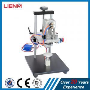 Quality perfume pump crimper machine/perfume cap grasping machine/perfume crimping machine for sale