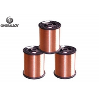 Quality Copper Nickel Alloy Wire NC005 CuNi2 Wire Strip Low Temperature Heating Long Service Time for sale