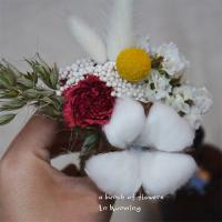 Quality Fashion Dried Wedding Flowers , Colorful Mini Size Dried Flower Bridal Bouquet for sale