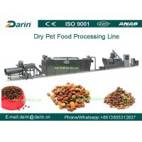 China High Efficiency Automatic Pellet Pet Food Extruder Machine With CE And ISO9001 on sale