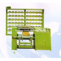 Quality rubber warping machine for ribbon,webbing,tape,stripe,riband,band,belt,elastic etc. for sale