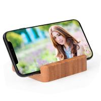 China Mini Bamboo Wooden Power Bank , 120g 5200mAh Power Bank Charger on sale
