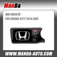 Buy cheap Factory car stereo for HONDA CITY 2014 RHD Car dvd player gps navigation from wholesalers