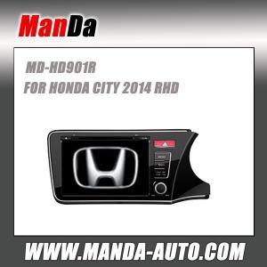 Quality Factory car stereo for HONDA CITY 2014 RHD Car dvd player gps navigation multimedia system headunits car entertainment for sale