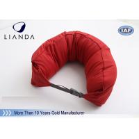 Quality Custom U Shaped Memory Foam Pillows For Travel / Airplane , TUV BS5852 Certification for sale