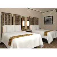 Quality Full Size Five Star Hotel Furniture , Luxury Contemporary Bedroom Furniture Sets for sale