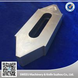 Wear Resistance Plastic Granulator Blades For Copper Cutting High Intensity