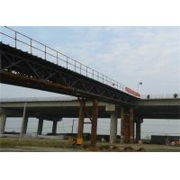 Highway TDR Type Steel Truss Bridge With Full Load - Carrying Capability