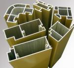 Electrophoresis aluminum door extrusions for sliding door window of