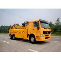 Quality Durable 100KN Safe Wrecker Tow Truck , Breakdown Recovery Truck For Highway / City Road Clearing Jobs for sale