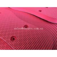 China Red Humanized Design Rubber EVA Foam Sheet for Slipper Inner Sole Outsole Shoes Material on sale