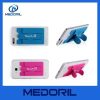 Quality New design adhesive silicone business card holder for mobile phone for sale