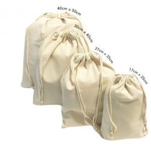 China custom design fashion eco-friendly organic cotton canvas drawstring bag,High Quality Customized Cotton Muslin Drawstring on sale