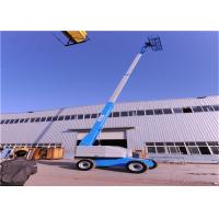 Quality Seamless Transmission Straight Boom Manlift , Man Lift Equipment Excellent Performance for sale