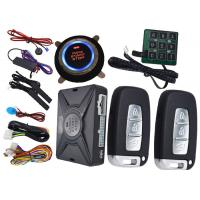 Quality Passcode Car Security Protection PKE Alarm System , Remote Vehicle Starter System Bypass Output for sale