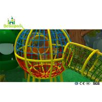 Net Rope Plastic Baby Indoor Playground For Residential Quarters / Community for sale