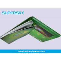 Quality Multi Language Rechargeable LCD Video Brochure High - Definition with HiFI Speaker for sale