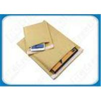 China Light-weight Brown / White Kraft Bubble Mailers Padded Mailing Bubble Envelopes on sale