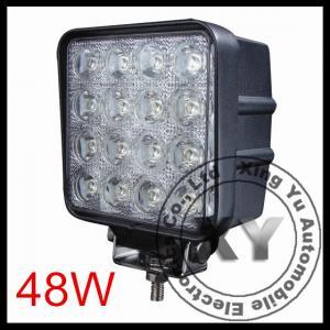 China 48W Led Work Lights For Trucks 12V 24V Flood / Spot beam For 4WD Offroad on sale