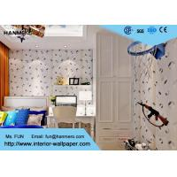 Buy cheap Black And White PVC Modern Removable Wallpaper Contemporary Wall Coverings from Wholesalers