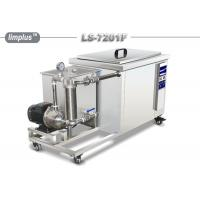 Quality Limplus Single Tank Industrial Ultrasonic Cleaner With Filteration And Skimming for sale