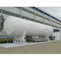 Quality ASME Vertical Big Cryogenic Liquid Storage Tank Long Service Life for sale