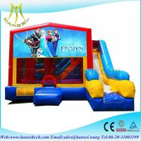 Quality Hansel amazing frozen jumping castle with slide for children for sale