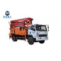 Quality 25m 33M  Small / Medium Truck Mounted Concrete Boom Pump Remote Control for sale