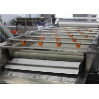 Quality 1000 - 2200mm Fruit Cleaner Machine , High Efficiency Food Processing Machine for sale