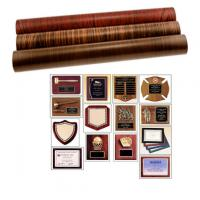 Quality Laminated film for Trophy and award plaques for sale