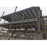 Buy cheap Cost-effective Steel Frame Structure Construction Multi-storey Building from wholesalers