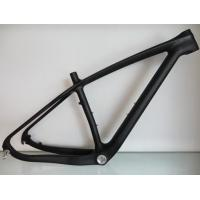 Quality Small Carbon Carbon Mountain Bike Frame Mtb 27.5 Full Suspension , Disc Brake Road Bike Frameset for sale