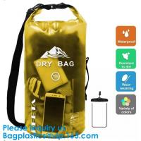 Buy cheap Colored 15Liter Shiny Clear Window Water Proof Dry Bag Ultralight Outdoor from wholesalers