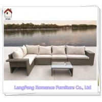 Large Victorian Style Outdoor Furniture Rattan Garden Sofa Set For Sale RMS70
