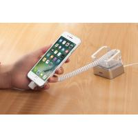 Quality COMER alarm devices holders for Anti-theft cell phone secure displays stand cradles with charging cable for sale