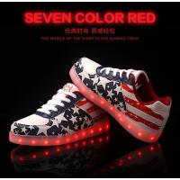 China led shoes with USB Charge New Women LED Light Luminous Sneaker High Top Lovers Athletic on sale