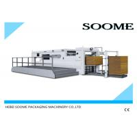 Quality Corrugated Paper Flat Bed Press Die Cutting And Creasing Machine Semi Automatically for sale