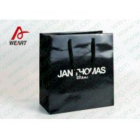 Quality Colored Paper Retail Shopping Bags Recycled  Feature Brand Printing for sale